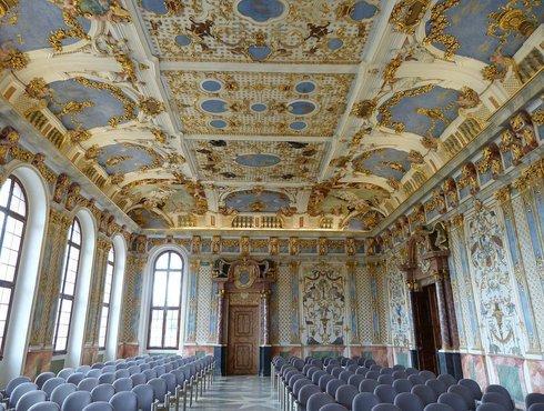 Der Kaisersaal in Kaisheim
