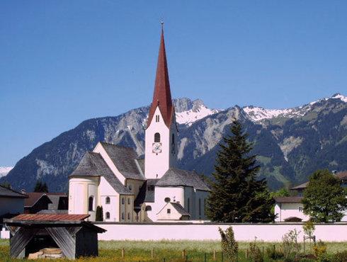 Dekanatspfarrkirche Breitenwang, Foto Breitenwang