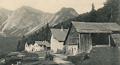Fernpass Alte Strasse Gasthof