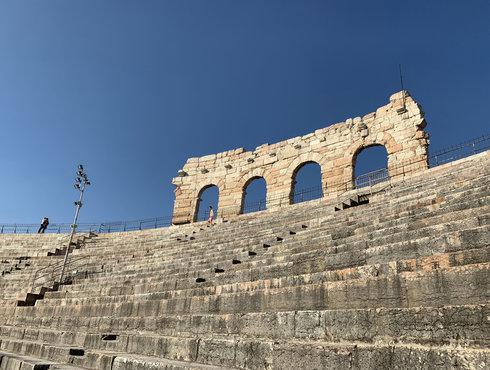 Verona Arena Stufen Ala Himmel
