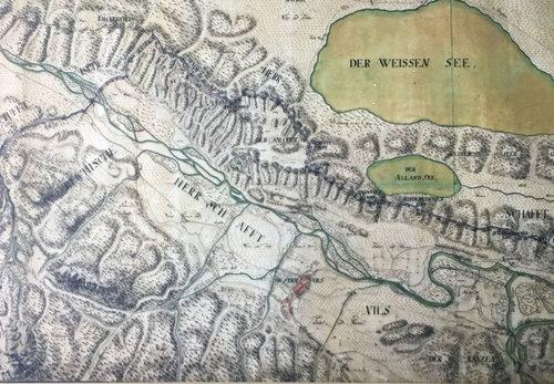 Alte Karte Vils