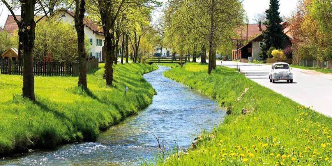 Schönach, Hohenfurch, Auerbergland, Foto Hohenfurch