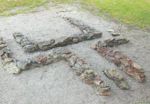 Siedlung Rapis Mauerreste Römischer Töpferofen