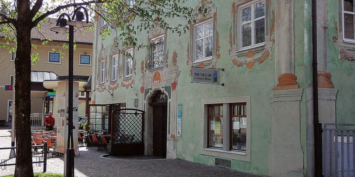 Museum Grünes Haus Reutte Untermarkt Architekturmalerei