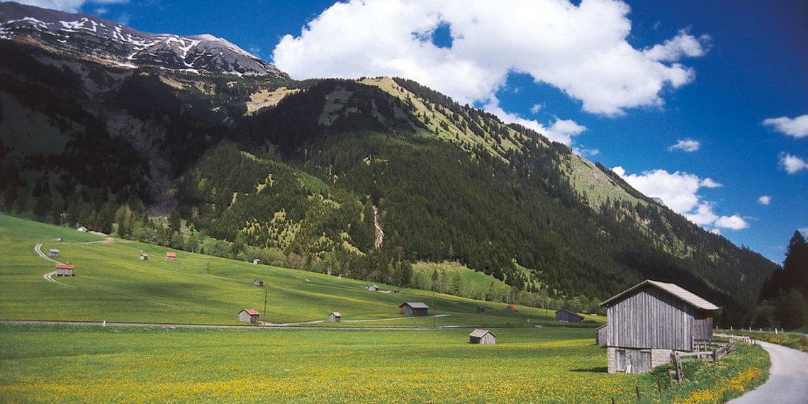 Radweg Heiterwang Bichlbach Tiroler Zugspitz Arena, Foto Anton Vorauer