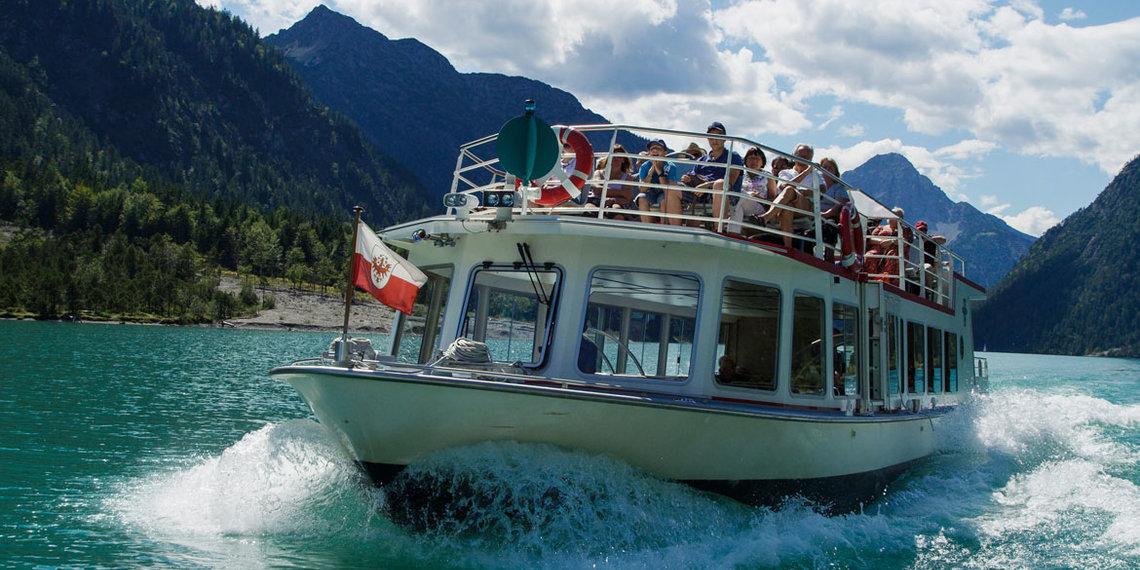 Sommer Schiff Heiterwanger See