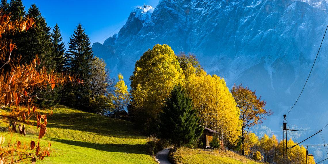 Herbst Zugspitze