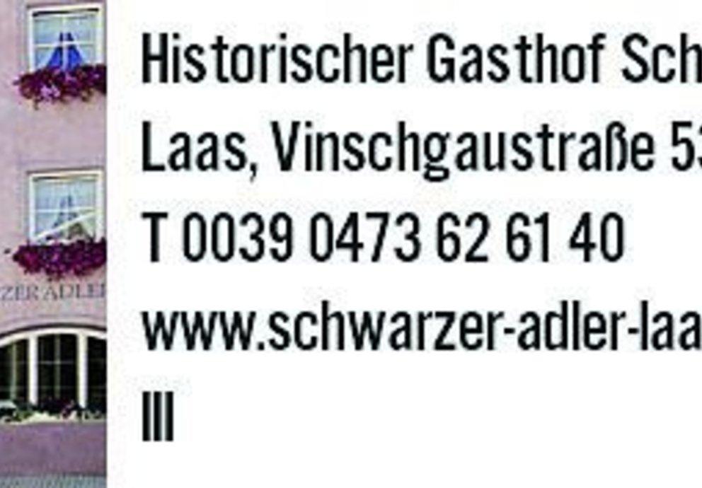 Laas, Schwarzer Adler