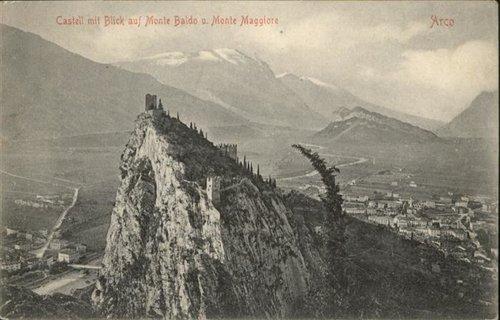 Arco Castello Monte Baldo Monte Maggiore