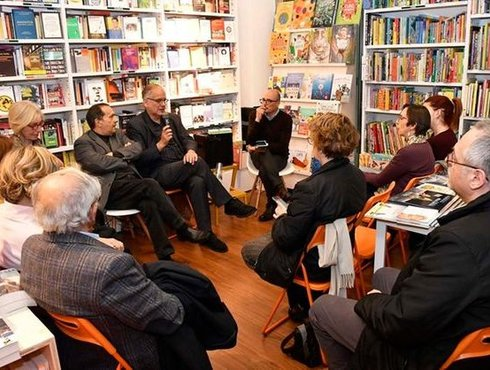 Netanyahu Alla Libreria Arcadia