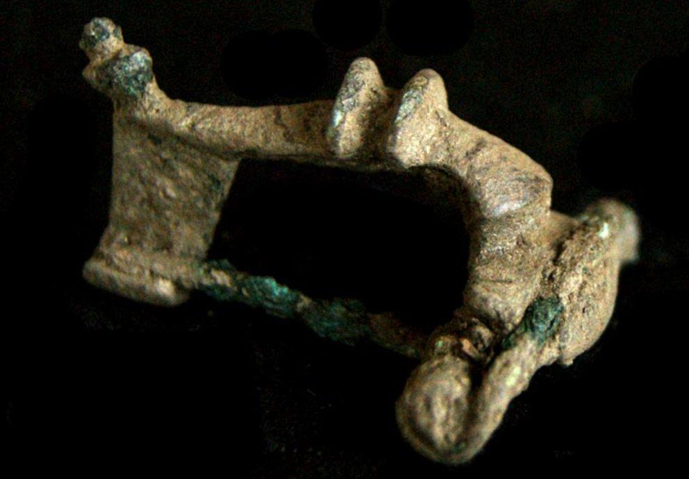Paulihof Römische Bronzefibel Mals