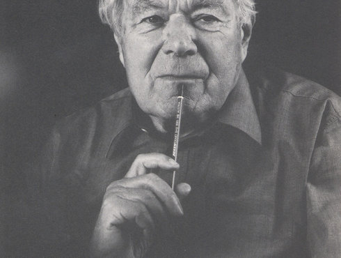 Portrait Paul Flora Geboren In Glurns