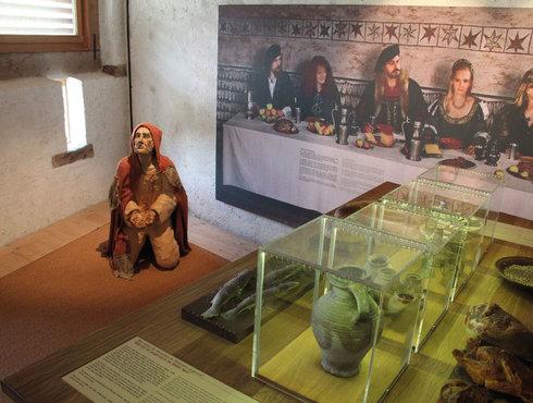 Museum Ausstellung dem Ritter auf der Spur