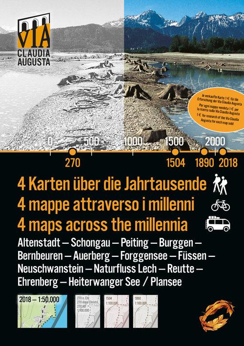 Titelseite der Historischen Karte Füssen