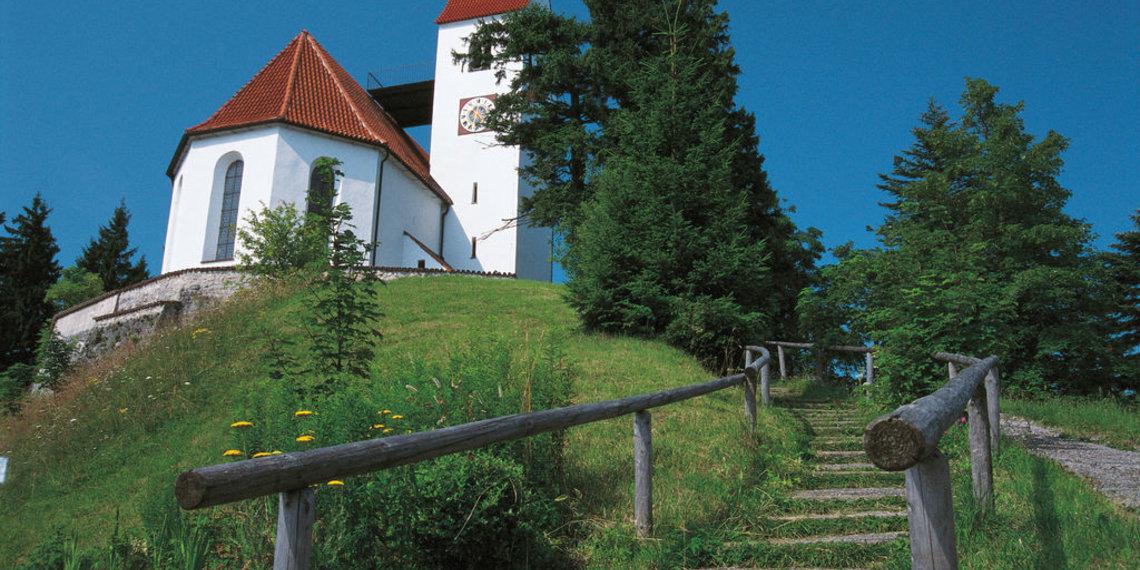 Kirche, Auerberg, Bernbeuren, Foto Anton Vorauer