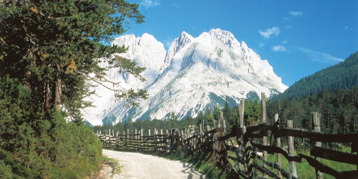 Fernpass Salzstrasse Mittelalter, Foto Anton Vorauer