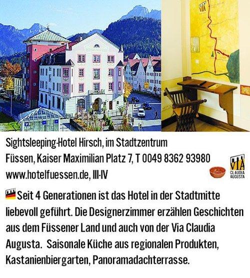 Füssen Hirsch
