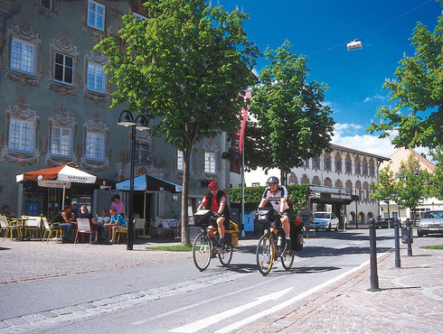 Tourenradfahrer