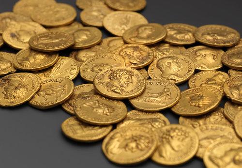 Goldmünzen, St. Stephan