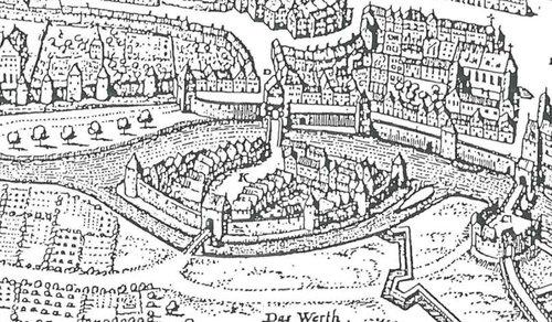 Insel Ried und Donauwörth im 17. Jahrhundert