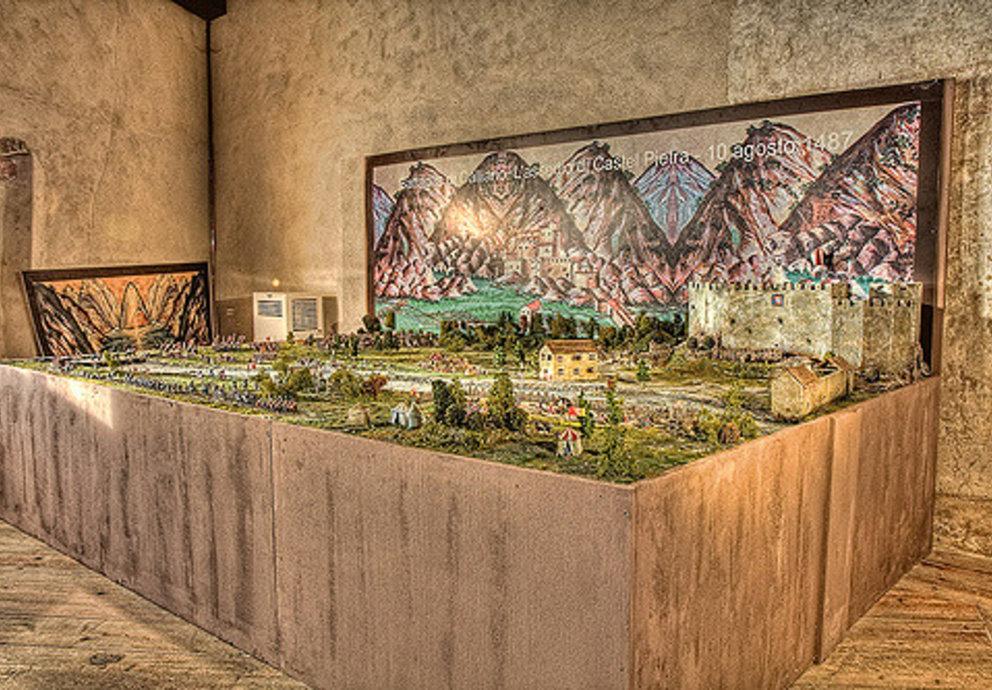 Battaglia Di Calliano 1487 Diorama