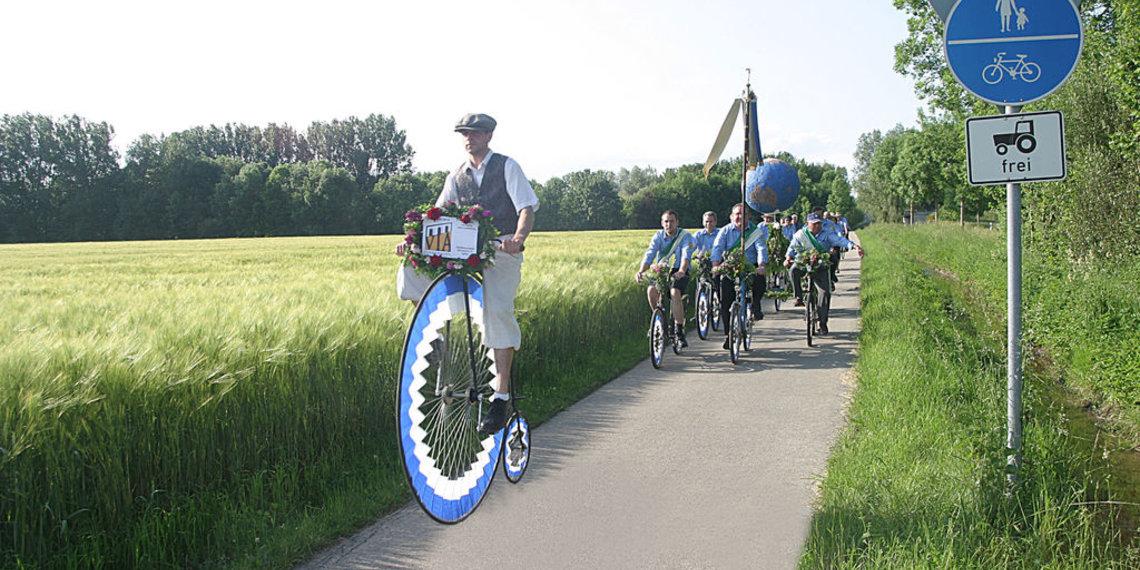 Historsche Radlergruppe Igling Ammersee, Foto Tschaikner