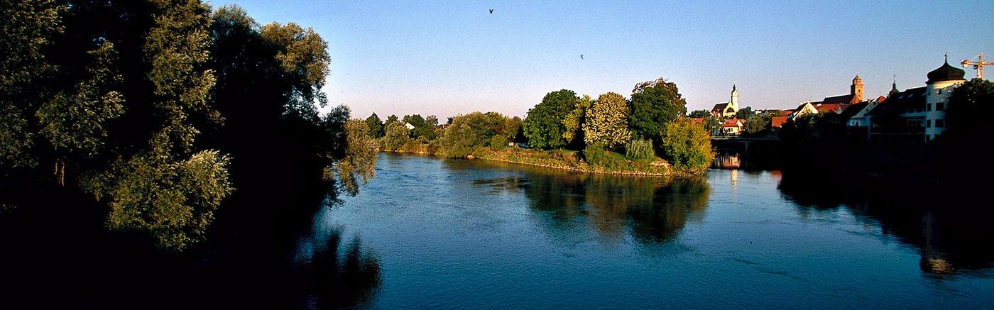 Bayern entlang der Via Claudia Augusta Donauwörth