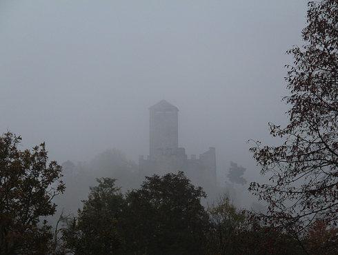 Zumelle Nebbia Dalla Collina