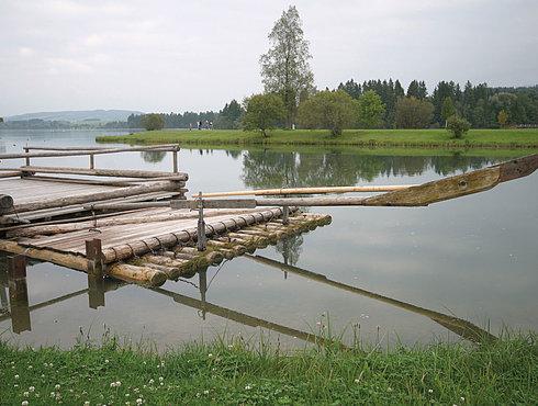 Lechfloss, Lechbruck Am See, Ostallgäu, Foto Tschaikner