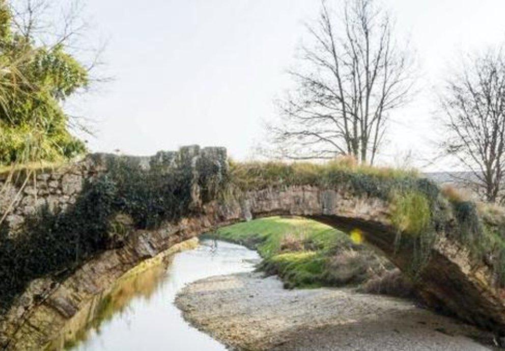 Ponte Romano Fra Conegliano E Susegana Prima Del Restauro