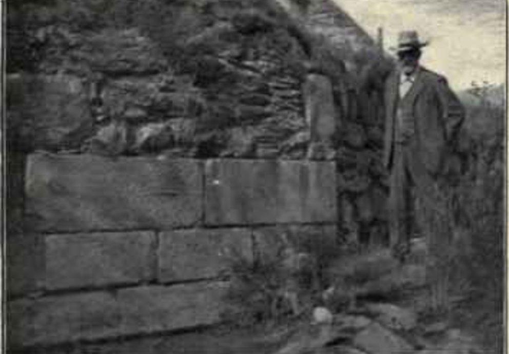 Reste Der Mittelalterlichen Etschbrücke Von Algund 1901