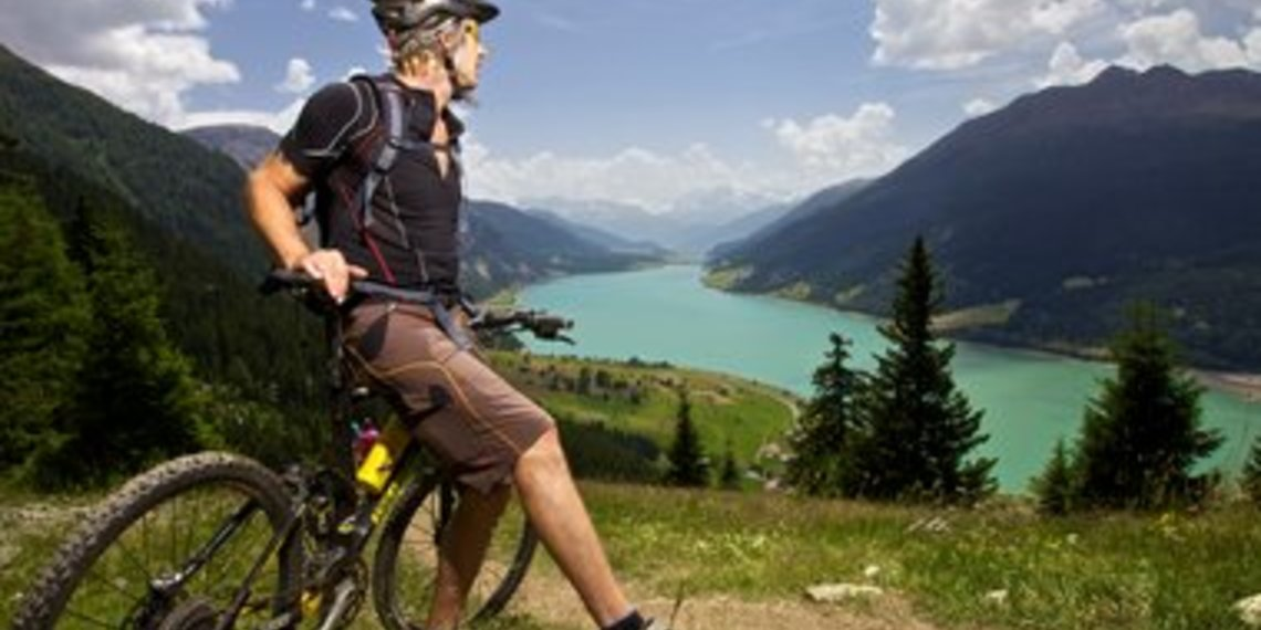 Mountainbike Foto Tiroler Oberland