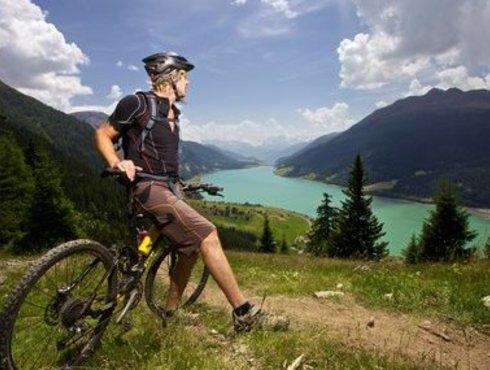 Mountainbike Foto Tiroler Oberland