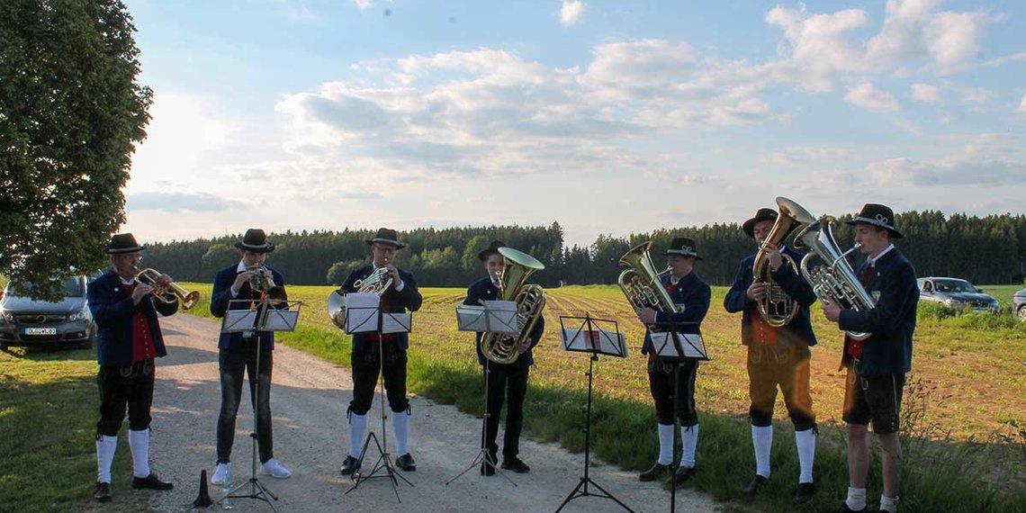 Musik Nordendorf im Freien