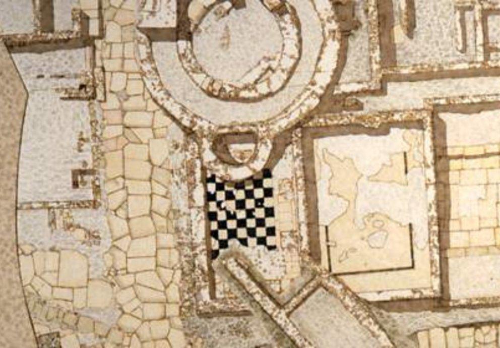 Grundriss Area Archelogica Feltre