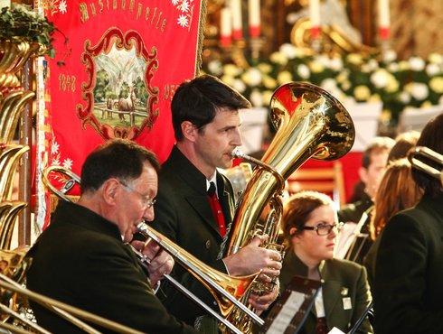 Konzert Kirchenkonzert Monente Zams