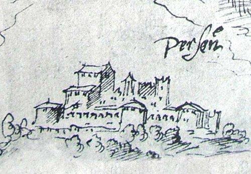 Disegno Castel Pergine