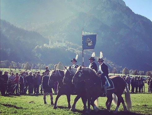 Kultur in Füssen, Reiter, Schlacht