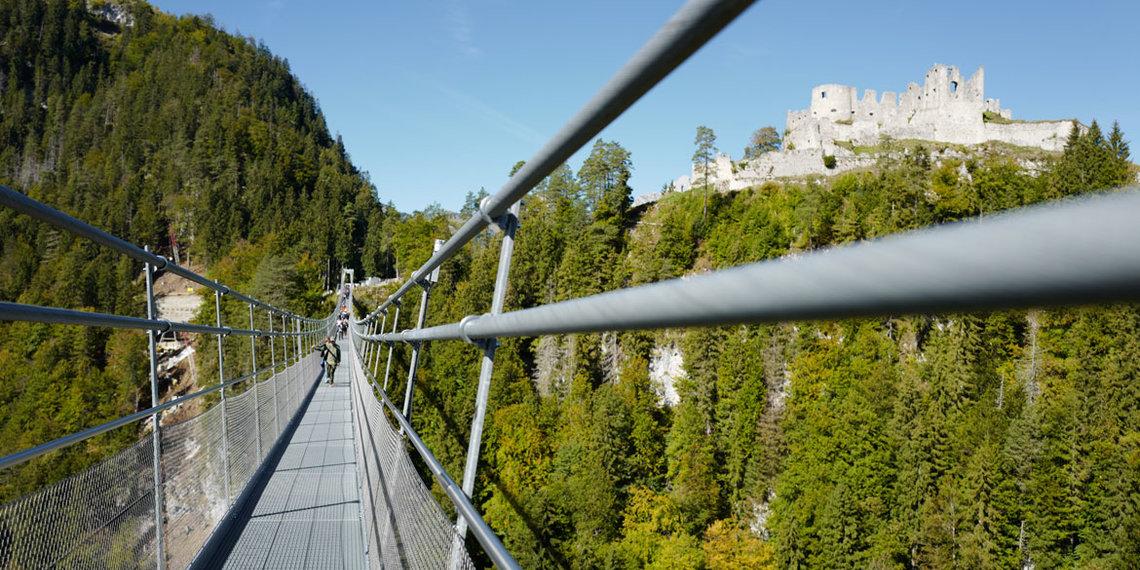 Sommer Herbst Highline Ruine Ehrenberg