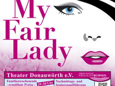 Plakat von My Fair Lady