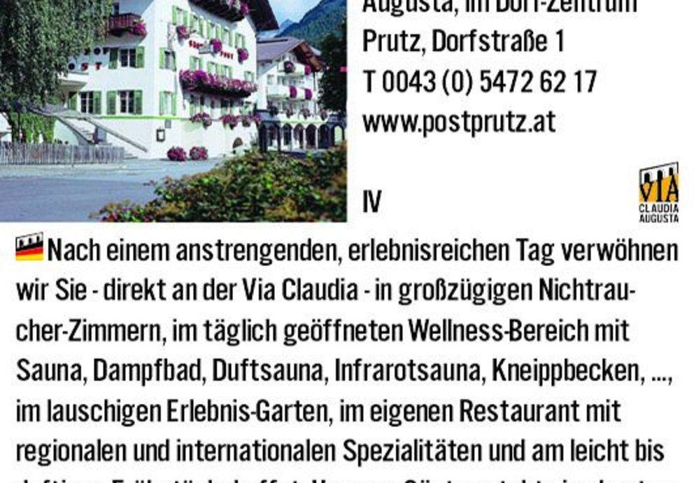 Prutz Hotel Post