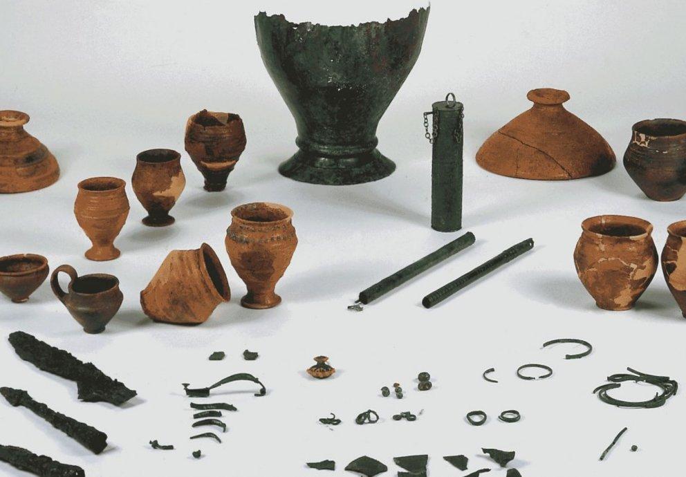 Römische Funde im Museum Montebelluna