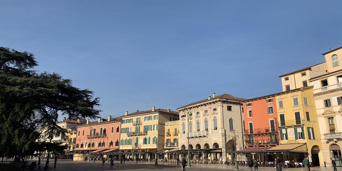 Verona Häuserzeile