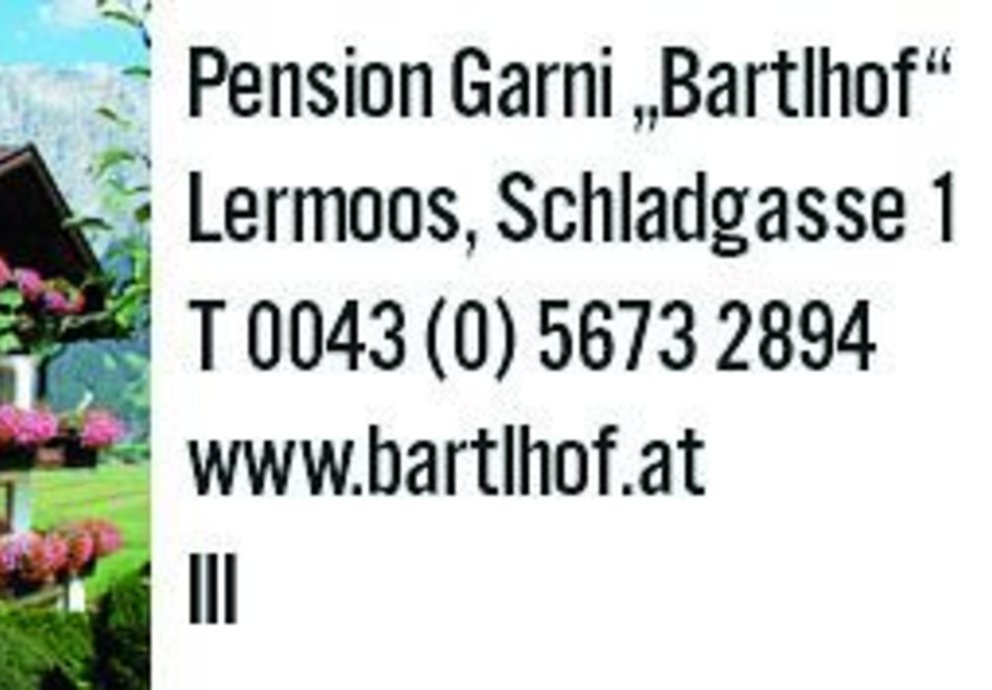 Lermoos Bartlhof