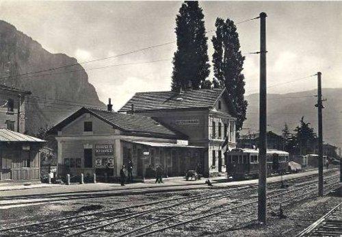 Mezzolombardo stazione tranviaria