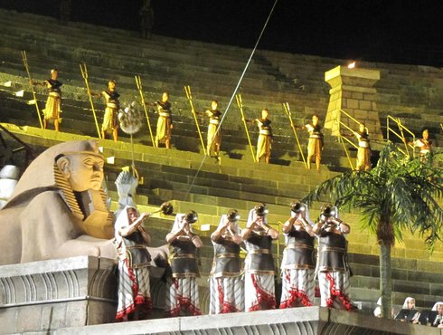 Arena Verona Aida Trompeten