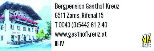Zams Gasthof Kreuz