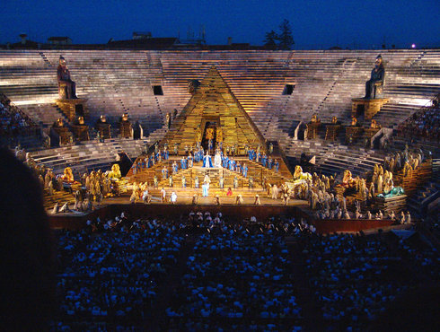 Arena Di Verona Aida Giuseppe Verdi