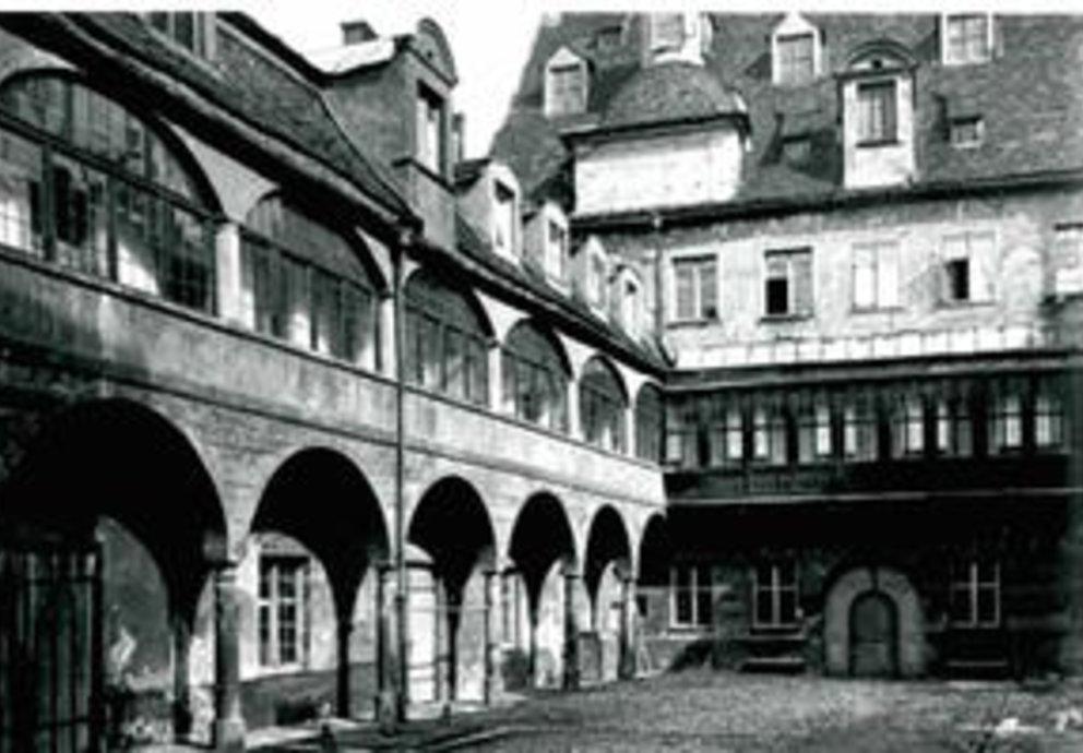 Historisches Foto Schloss Meitingen