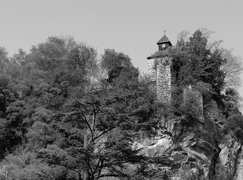 Zeno Burg Castrum Majense Spätantike Kapelle